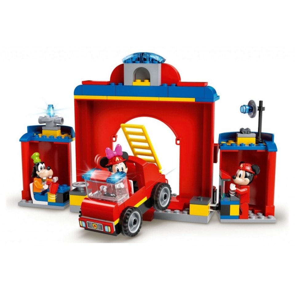 Obrázek 2 produktu LEGO Mickey 10776 Hasičská stanice a auto Mickeyho a přátel