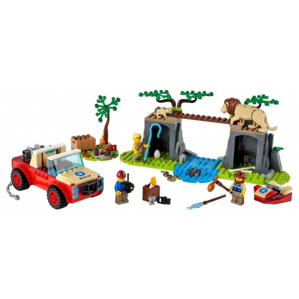 Obrázek 1 produktu LEGO CITY 60301 Záchranářský teréňák do divočiny