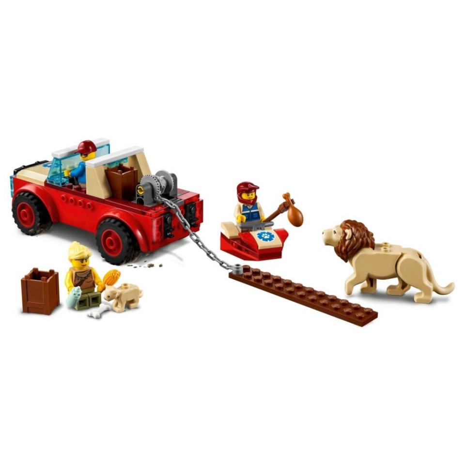 Obrázek 2 produktu LEGO CITY 60301 Záchranářský teréňák do divočiny