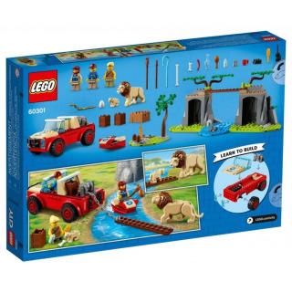 Obrázek 4 produktu LEGO CITY 60301 Záchranářský teréňák do divočiny