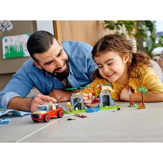 Obrázek 5 produktu LEGO CITY 60301 Záchranářský teréňák do divočiny