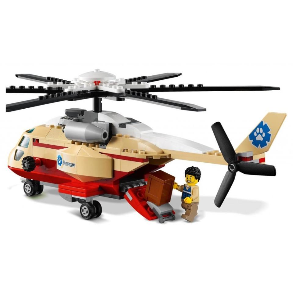 Obrázek 2 produktu LEGO CITY 60302 Záchranná operace v divočině