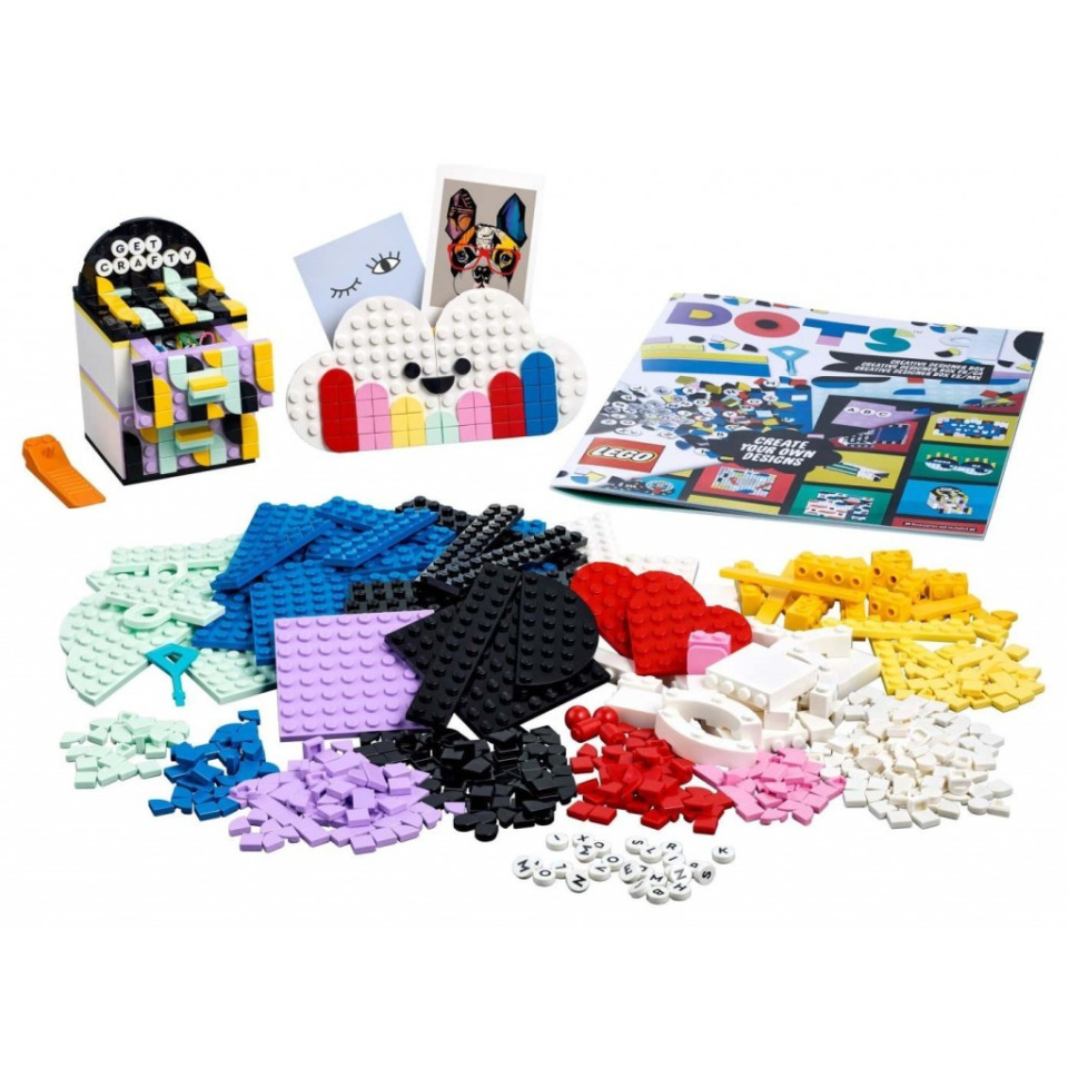 Obrázek 1 produktu LEGO DOTS™ 41938 Kreativní designerský box