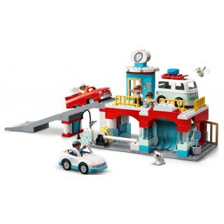 Obrázek 2 produktu LEGO DUPLO 10948 Garáž a myčka aut