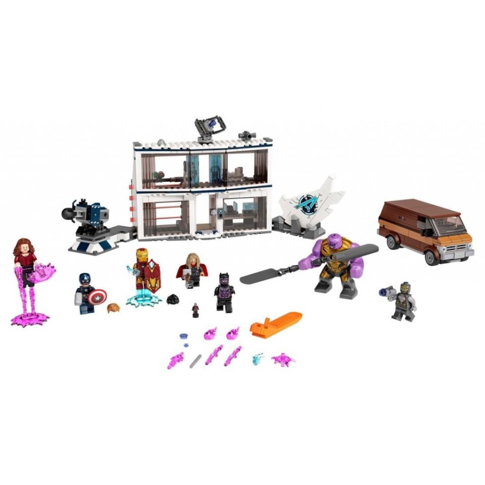 Obrázek 1 produktu LEGO Super Heroes 76192 Avengers: Endgame – poslední bitva