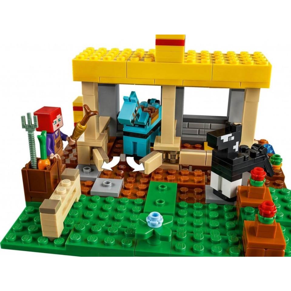 Obrázek 2 produktu LEGO Minecraft 21171 Koňská stáj