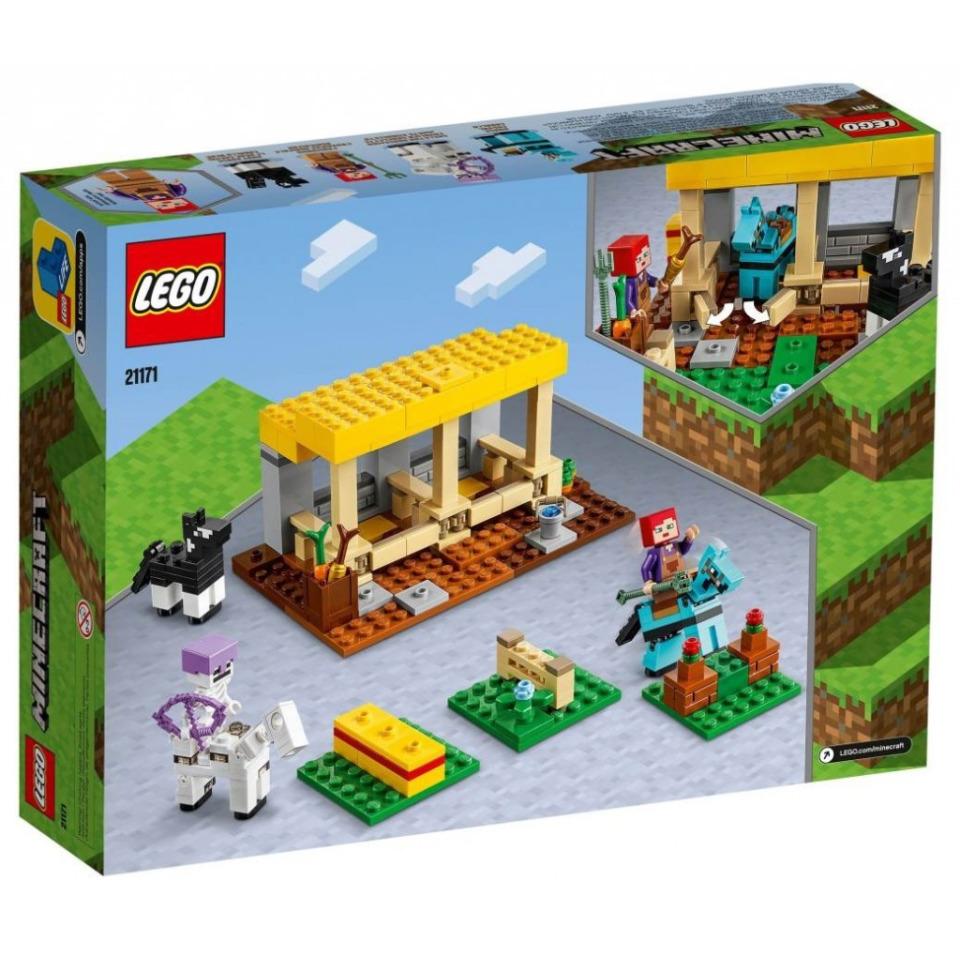 Obrázek 4 produktu LEGO Minecraft 21171 Koňská stáj