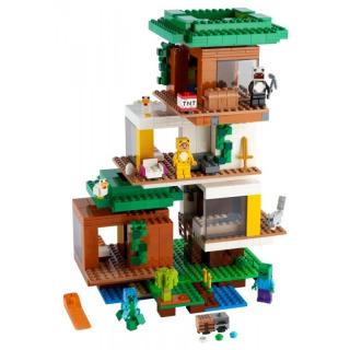 Obrázek 2 produktu LEGO Minecraft 21174 Moderní dům na stromě