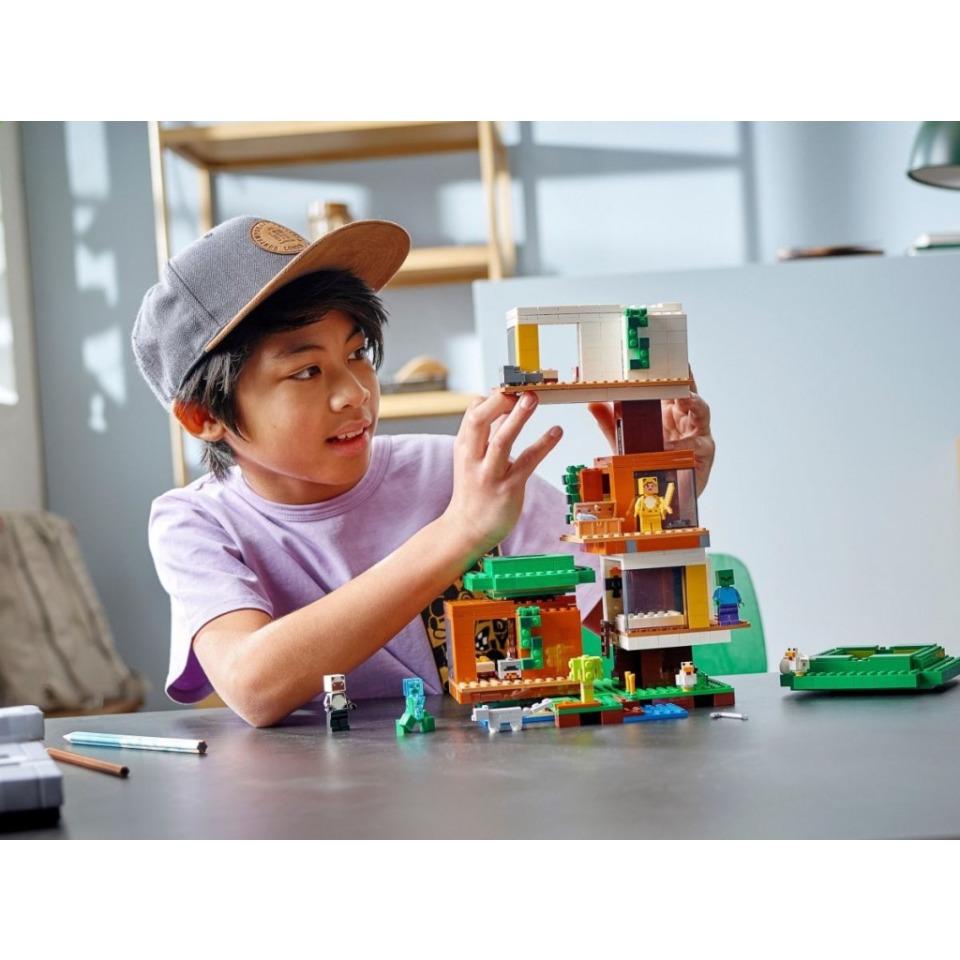 Obrázek 3 produktu LEGO Minecraft 21174 Moderní dům na stromě