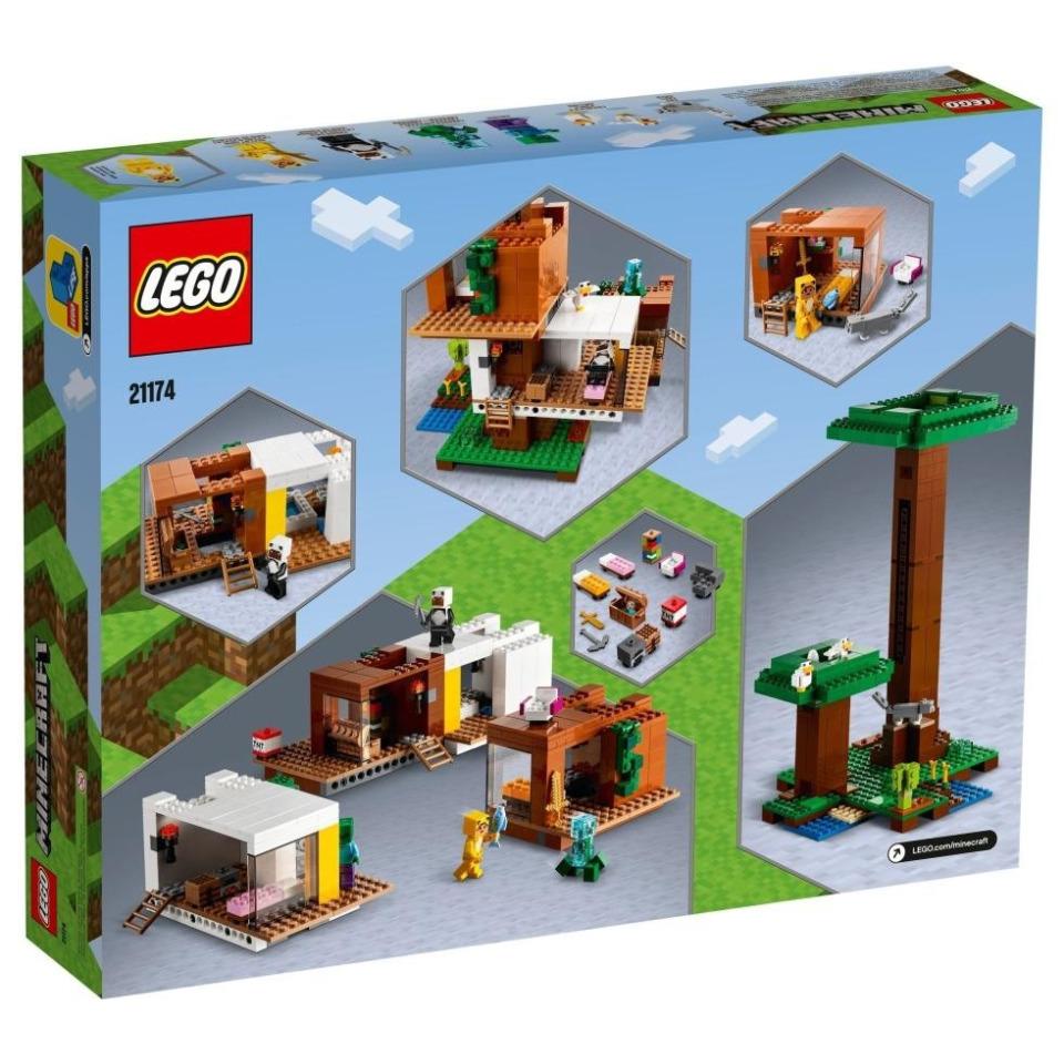 Obrázek 4 produktu LEGO Minecraft 21174 Moderní dům na stromě