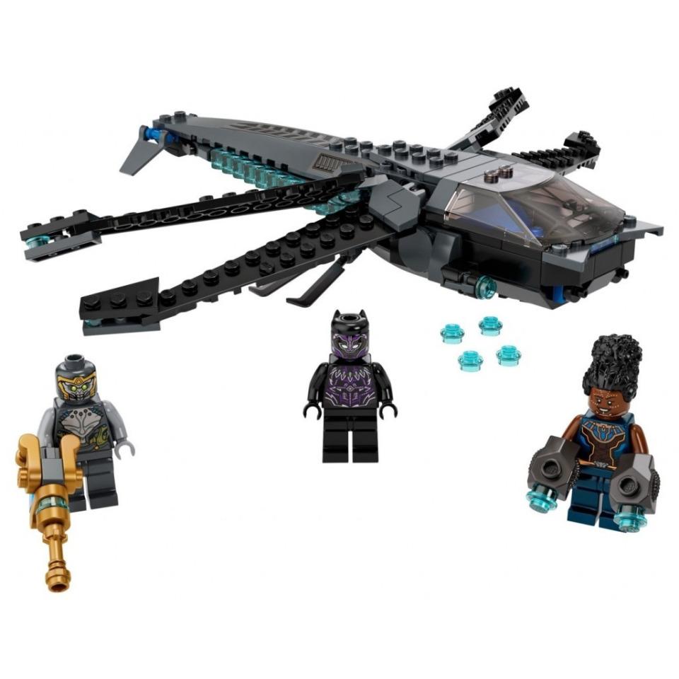 Obrázek 1 produktu LEGO Super Heroes 76186 Black Panther a dračí letoun