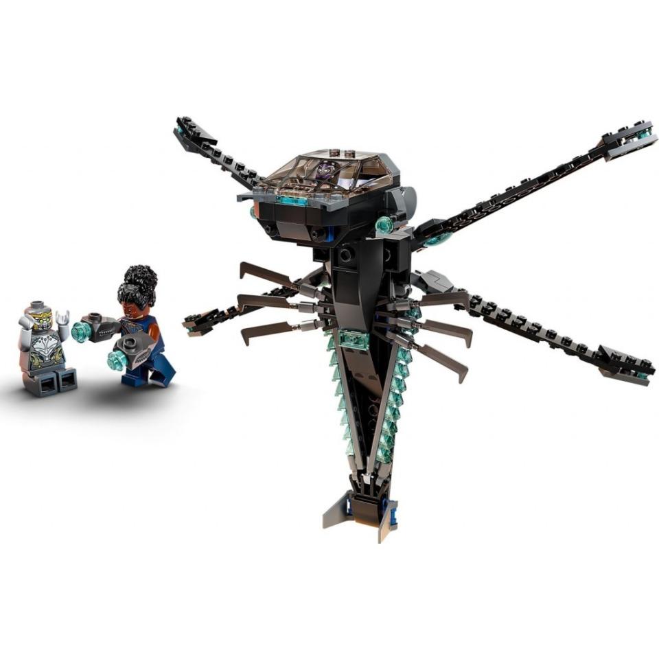 Obrázek 2 produktu LEGO Super Heroes 76186 Black Panther a dračí letoun
