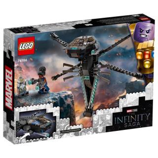 Obrázek 5 produktu LEGO Super Heroes 76186 Black Panther a dračí letoun