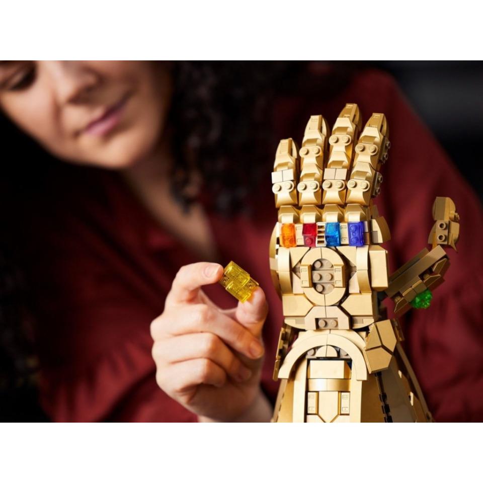 Obrázek 3 produktu LEGO Super Heroes 76191 Rukavice nekonečna