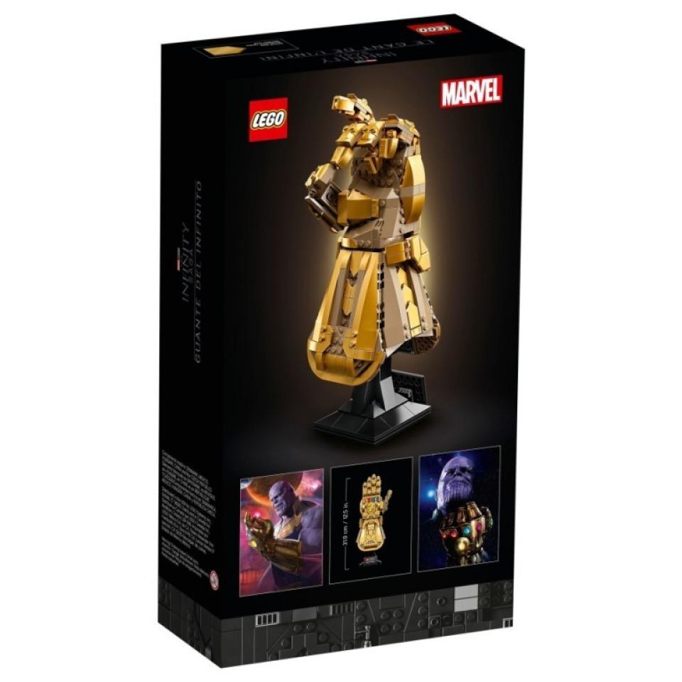 Obrázek 4 produktu LEGO Super Heroes 76191 Rukavice nekonečna