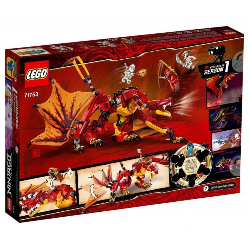 Obrázek 4 produktu LEGO Ninjago 71753 Útok ohnivého draka