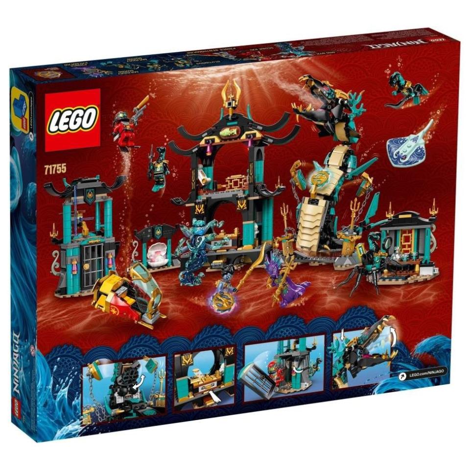 Obrázek 4 produktu LEGO Ninjago 71755 Chrám nekonečného moře