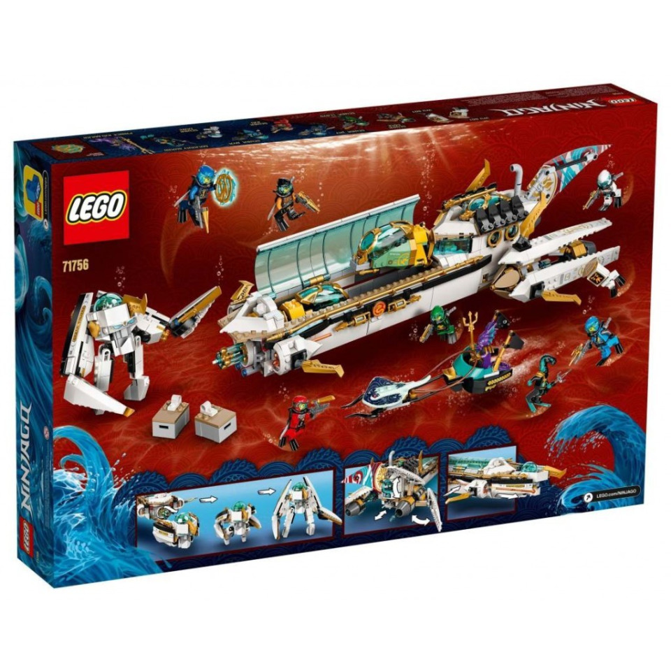Obrázek 4 produktu LEGO Ninjago 71756 Odměna na vlnách