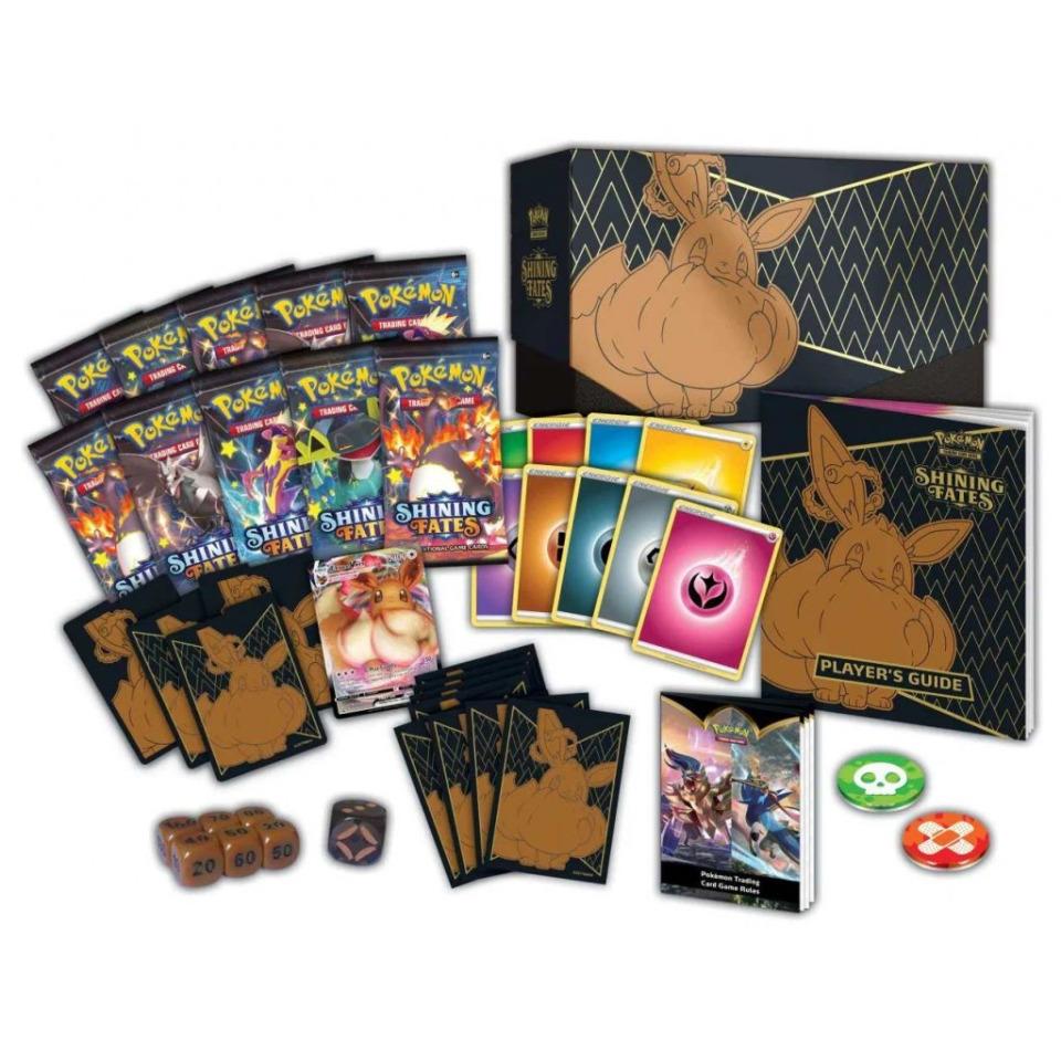 Obrázek 1 produktu Pokémon TCG: SWSH04.5 Shining Fates - Elite Trainer Box