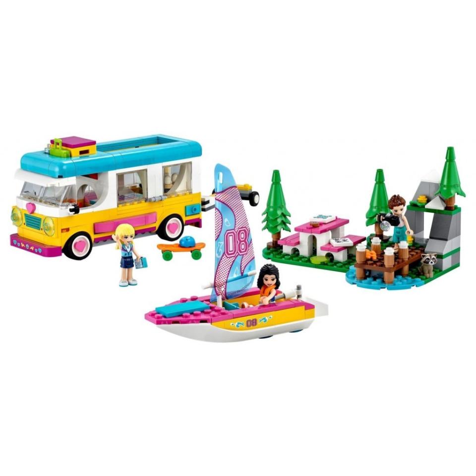 Obrázek 1 produktu LEGO Friends 41681 Kempování v lese