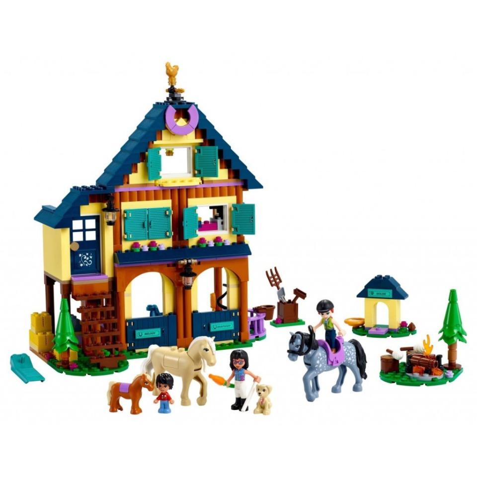 Obrázek 1 produktu LEGO Friends 41683 Lesní jezdecké středisko