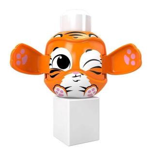 Obrázek 3 produktu Mega Bloks Peek a Blocks Tygr, Mattel GKX48