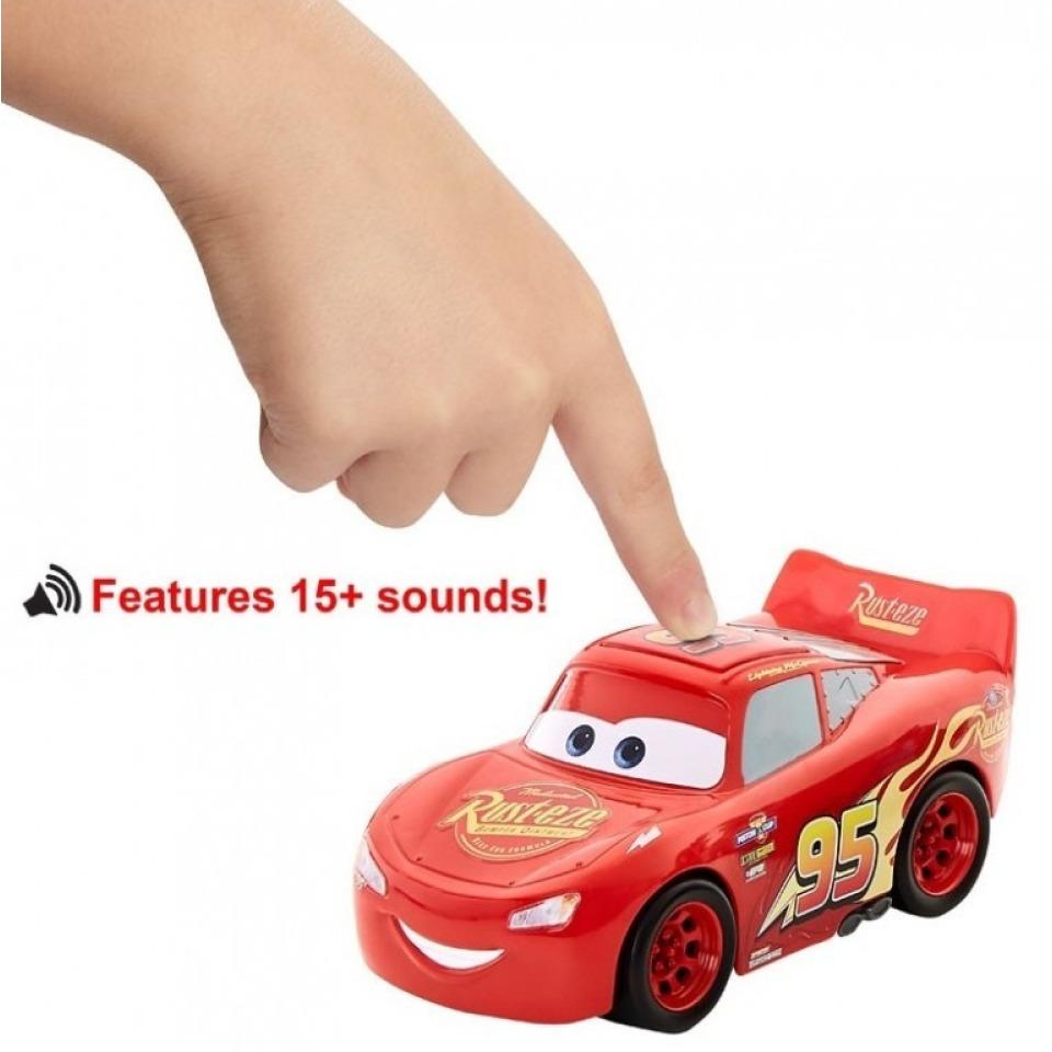 Obrázek 1 produktu Cars 3 Autíčko Blesk McQueen se zvukem, Mattel GXT29