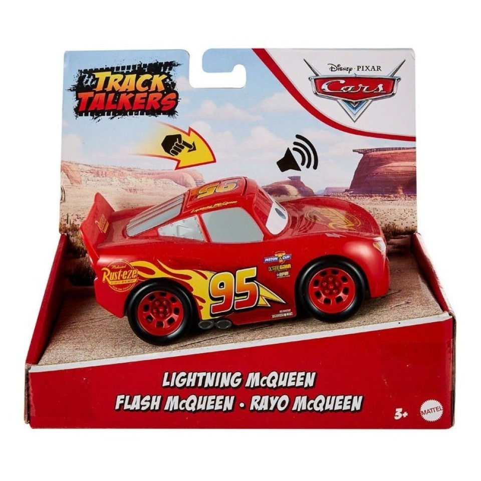 Obrázek 2 produktu Cars 3 Autíčko Blesk McQueen se zvukem, Mattel GXT29