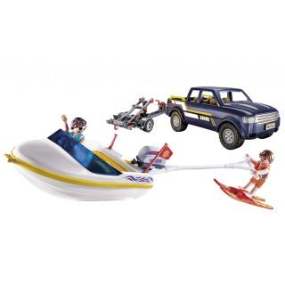 Obrázek 2 produktu Playmobil 70534 Pick-up s motorovým člunem