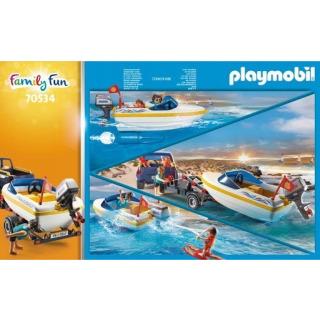 Obrázek 3 produktu Playmobil 70534 Pick-up s motorovým člunem