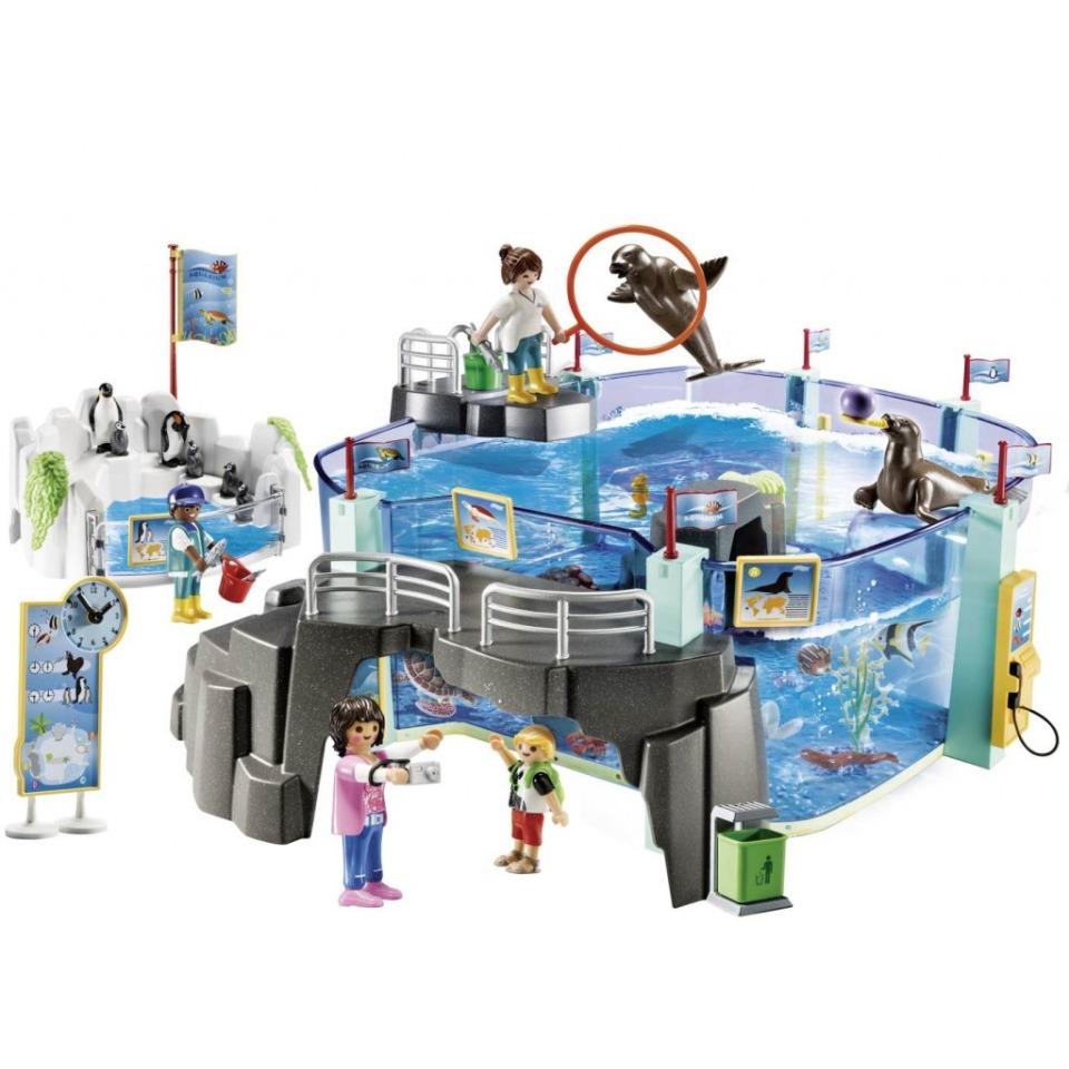 Obrázek 1 produktu Playmobil 70537 Set Akvárium s bazénem pro tučňáky