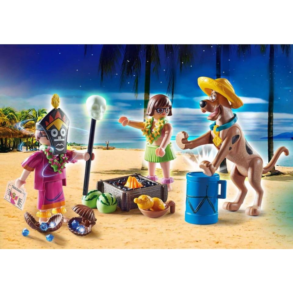 Obrázek 1 produktu Playmobil 70707 SCOOBY-DOO! Dobrodružství se Šamanem