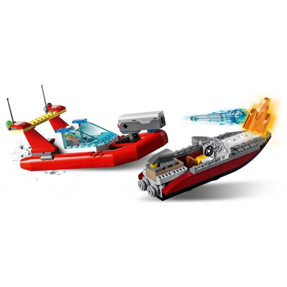 Obrázek 2 produktu LEGO CITY 60308 Pobřežní policie a jednotka hasičů
