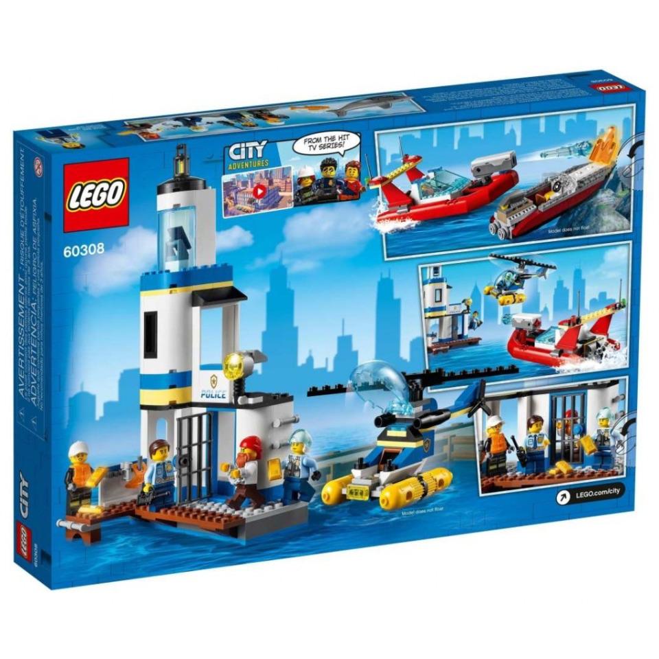 Obrázek 3 produktu LEGO CITY 60308 Pobřežní policie a jednotka hasičů