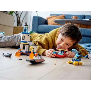 Obrázek 5 produktu LEGO CITY 60308 Pobřežní policie a jednotka hasičů