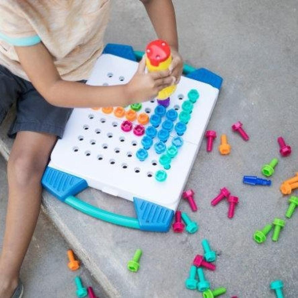 Obrázek 1 produktu PEXI Kouzelný šroubovák v plastovém kufříku