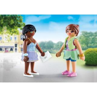Obrázek 2 produktu Playmobil 70691 DuoPack Dívky na nákupech