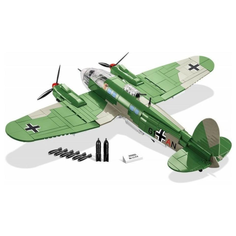 Obrázek 2 produktu COBI 5717 World War II Německý střední bombardér HEINKEL HE 111 P-2
