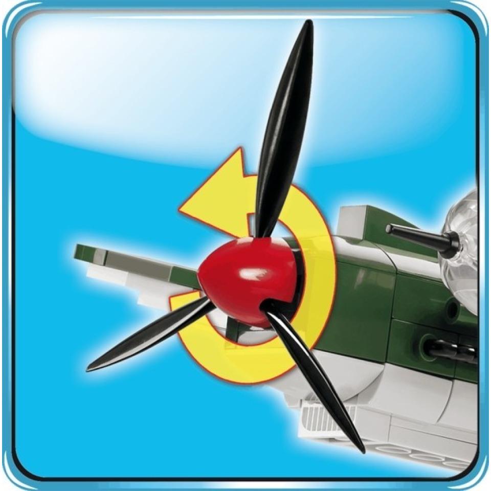 Obrázek 4 produktu COBI 5717 World War II Německý střední bombardér HEINKEL HE 111 P-2
