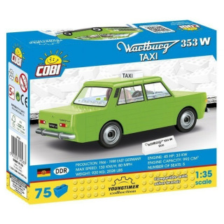 Obrázek 2 produktu COBI 24528 Youngtimer Automobil WARTBURG 353W TAXI