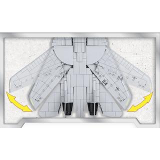 Obrázek 4 produktu COBI 5811 TOP GUN Maverick Americký víceúčelový stíhací letoun F-14A TOMCAT