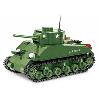 Obrázek 3 produktu COBI 2708 World War II Americký tank Sherman M4A1