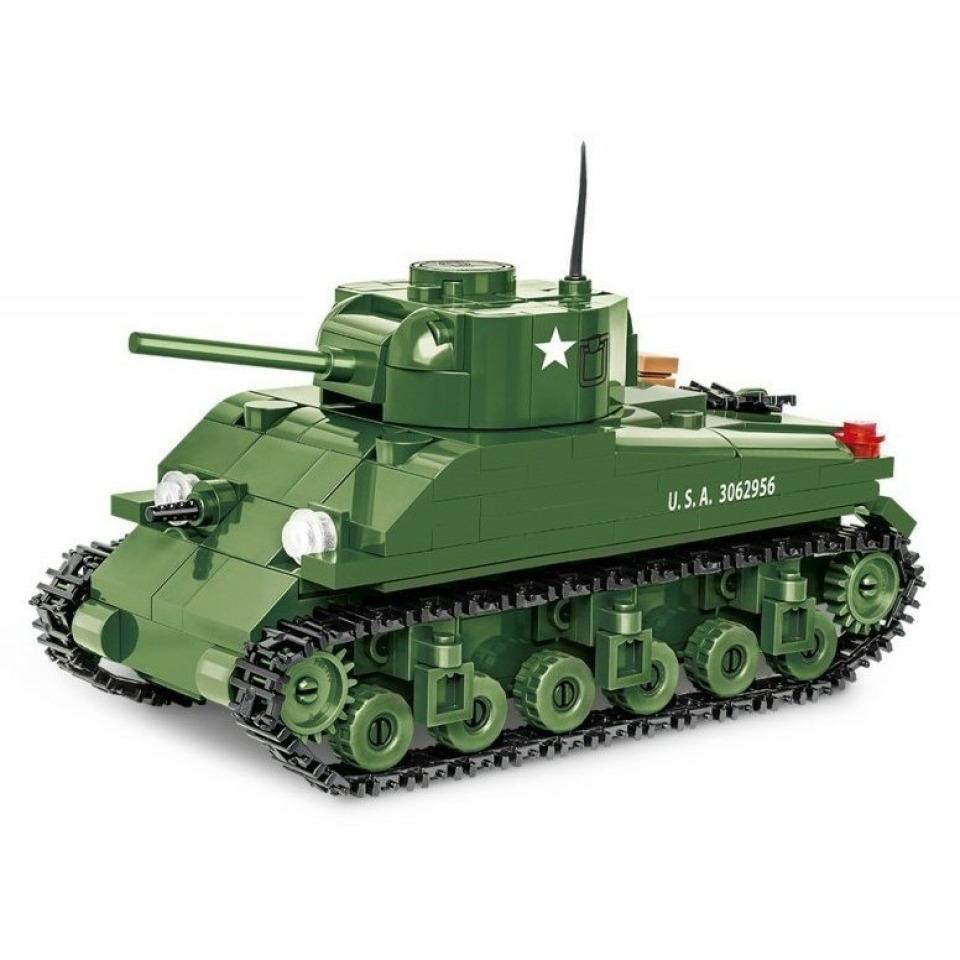 Obrázek 2 produktu COBI 2708 World War II Americký tank Sherman M4A1