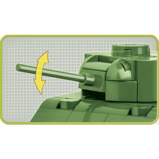Obrázek 4 produktu COBI 2708 World War II Americký tank Sherman M4A1