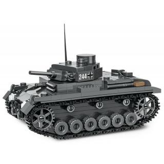 Obrázek 3 produktu COBI 2707 World War II Německý střední tank Panzer III Pz. KpfW. AUSF. E