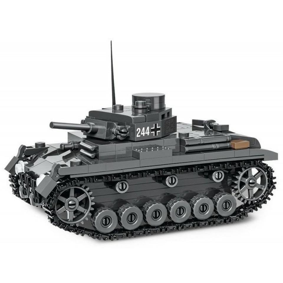 Obrázek 2 produktu COBI 2707 World War II Německý střední tank Panzer III Pz. KpfW. AUSF. E