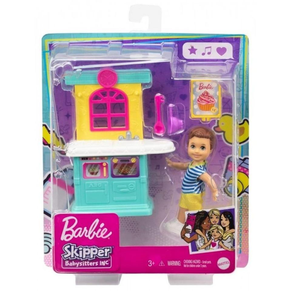 Obrázek 1 produktu Mattel Barbie Příběh z deníku chůvy Kuchyňský kout GRP16/FXG94