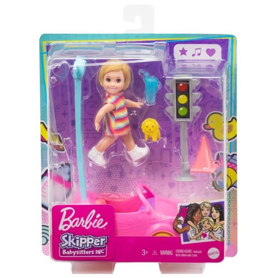 Obrázek 1 produktu Mattel Barbie Příběh z deníku chůvy Autíčko pro batolata GRP17/FXG94