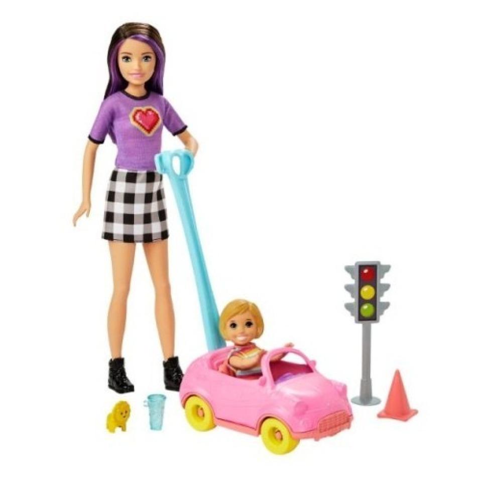 Obrázek 2 produktu Mattel Barbie Příběh z deníku chůvy Autíčko pro batolata GRP17/FXG94