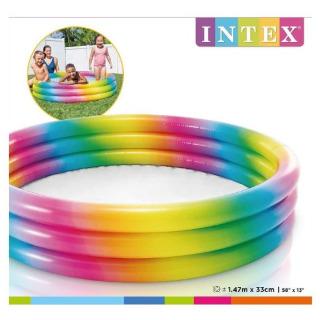 Obrázek 2 produktu Intex 58439 Bazén Rainbow Ombre 147x33 cm
